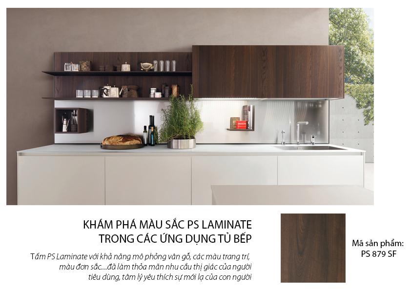 Tủ bếp Laminate chất lượng, an toàn cho sức khỏe