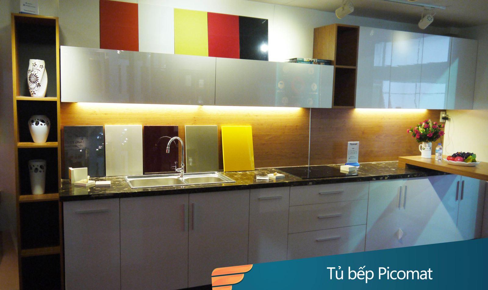 www.123nhanh.com: Dịch vụ gia công cánh tủ bếp acrylic không đường cạnh